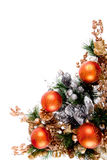 Christmas Ornament Corner Decoration Series Royalty Free Stock Images