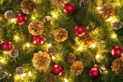 Christmas. The Christmas ornament decorated the Christmas tree Stock Photography