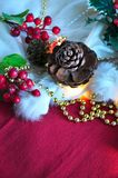 Christmas Ornament Decoration Background Royalty Free Stock Photography
