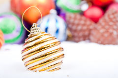 Christmas Ornament  Decoration Series Stock Photos