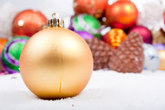 Christmas Ornament  Decoration Series Royalty Free Stock Photos