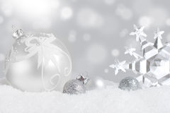 Christmas ornament display royalty free stock image