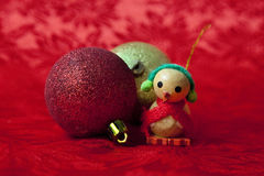 Christmas Ornament Duck Royalty Free Stock Images