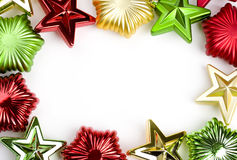 Christmas ornament frame Stock Image