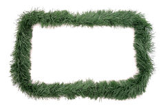 Christmas ornament frame Stock Photo