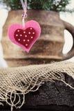 Christmas ornament heart shaped Stock Photo