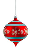 Christmas ornament. Isolated on a white background stock photography