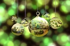 Christmas Ornament, Macro Photography, Christmas Decoration, Sphere stock photography