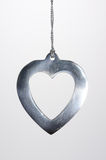 Christmas Ornament Metal Heart Royalty Free Stock Photo