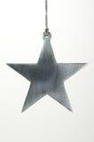 Christmas Ornament Metal Star Stock Photo
