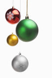 Christmas ornament over white Stock Photography