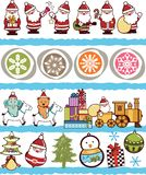 Christmas Ornament Pattern Royalty Free Stock Photography