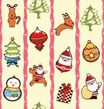Christmas Ornament Pattern Stock Image