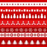 Christmas ornament pattern Stock Photo