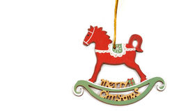 Christmas ornament pony rocker Stock Photos