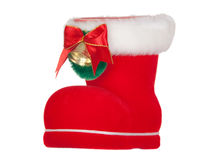 Christmas Ornament: Santa Claus boot  Christmas Or Stock Photo