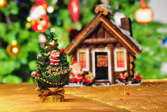 Christmas ornament and scene Stock Photos