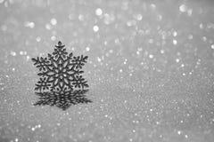 Christmas ornament on snow Stock Photography
