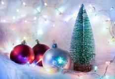 Christmas ornament still life royalty free stock photos