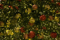Christmas ornament tree Stock Images