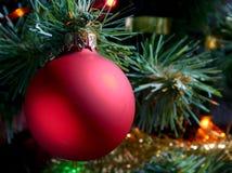 christmas ornament tree Στοκ φωτογραφία με δικαίωμα ελεύθερης χρήσης