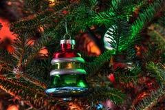 Christmas Ornament On Tree Stock Image