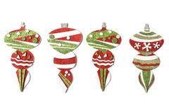 Christmas ornament on white background Stock Photo