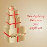 Christmas ornament7. Christmas gifts. Element for design Stock Illustration