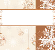 Christmas ornamental background Stock Photo