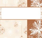 Christmas ornamental background Stock Photo