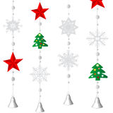 Christmas ornamental decoration Royalty Free Stock Images