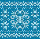 Christmas ornamental embroidery Stock Images