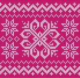 Christmas ornamental embroidery Stock Photos