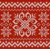 Christmas ornamental embroidery Stock Photo