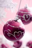 Christmas ornaments Stock Photos