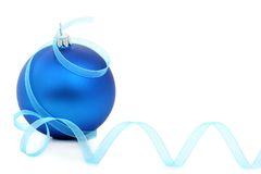 Christmas ornaments. Isolated on white background Royalty Free Stock Photography