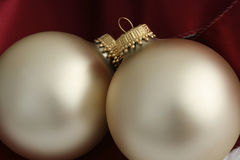 Christmas Ornaments. Close up of Christmas Ornaments stock photography