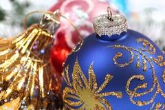 Christmas ornaments. Few christmas ornaments. Holiday season Royalty Free Stock Photo