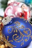 Christmas ornaments. Few christmas ornaments. Holiday season Stock Image
