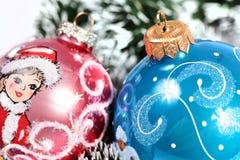 Christmas ornaments. Few christmas ornaments. Holiday season Royalty Free Stock Photography