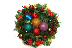 Christmas ornaments. Background christmas ornaments xmas isolated Stock Photos