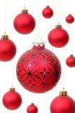 Christmas ornaments stock photos
