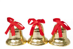 Christmas ornaments. Isolated on white background Royalty Free Stock Photo