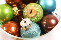 Christmas ornaments Stock Images