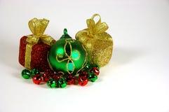 Christmas Ornaments. Various Christmas related items Stock Photos