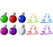 Christmas Ornaments Stock Photo
