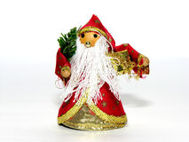 Christmas ornaments. Doll royalty free stock photos