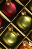 Christmas ornaments. Close-up of beautiful christmas ornaments Royalty Free Stock Photo
