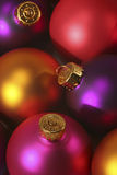 Christmas ornaments. Close-up of beautiful christmas ornaments - selective focus Stock Photo
