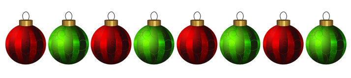 Christmas ornaments Stock Photography